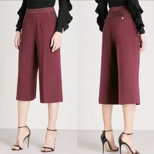 New women's Ted Baker Maroon cropped pants
